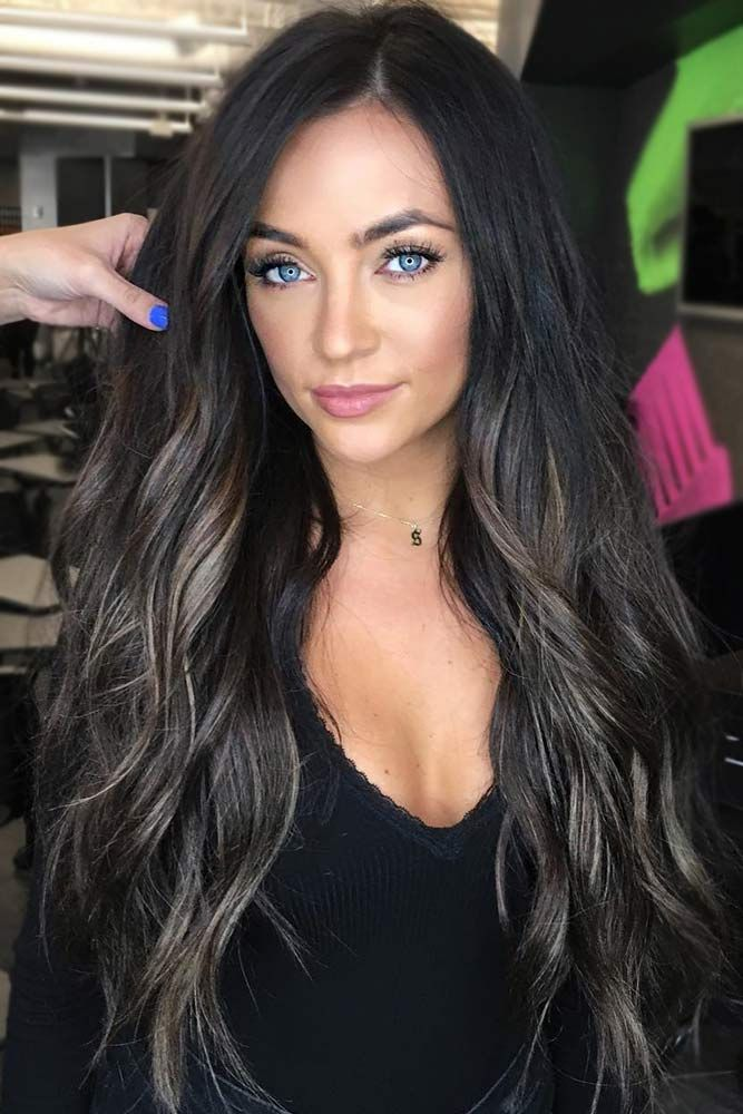 Ashy Highlights #brunette #highlights ❤️ Do you know how awesomely you can p...