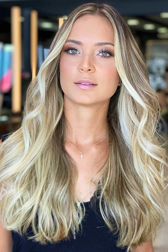 Ashy Light Brown Lowlights #lowlights ❤️ If you want to make your hair color...