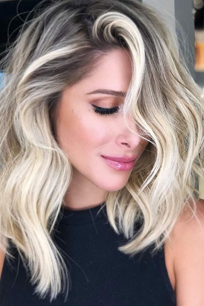 Beautiful Blonde Hair To Draw His Attention Wavy #blondehair ❤️ Try platinum...
