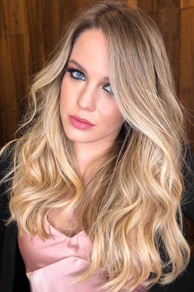 Blonde To Light Gold Shade #blondehair #highlights ❤️ Try out our stunning i...
