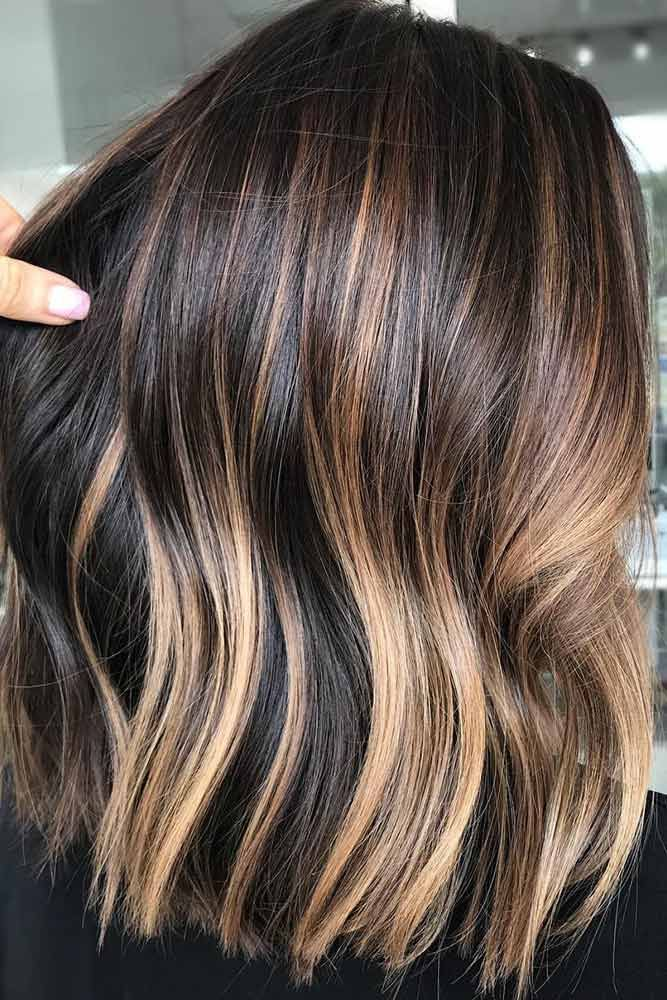 Caramel Dimensions #brunette #highlights ❤️ Do you know how awesomely you ca...