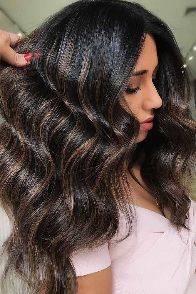 Copper Brownish Lights #highlights #brunette ❤️ Do you know how awesomely yo...