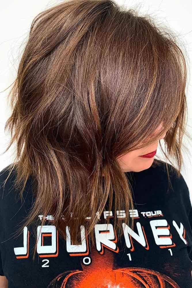 Dark Brown Lowlights #lowlights #brunette ❤️ If you want to make your hair c...