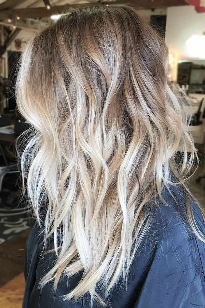 Dirty Blonde Ombre Hairstyle #blondehair #wavyhair ❤️ Are you looking for bl...