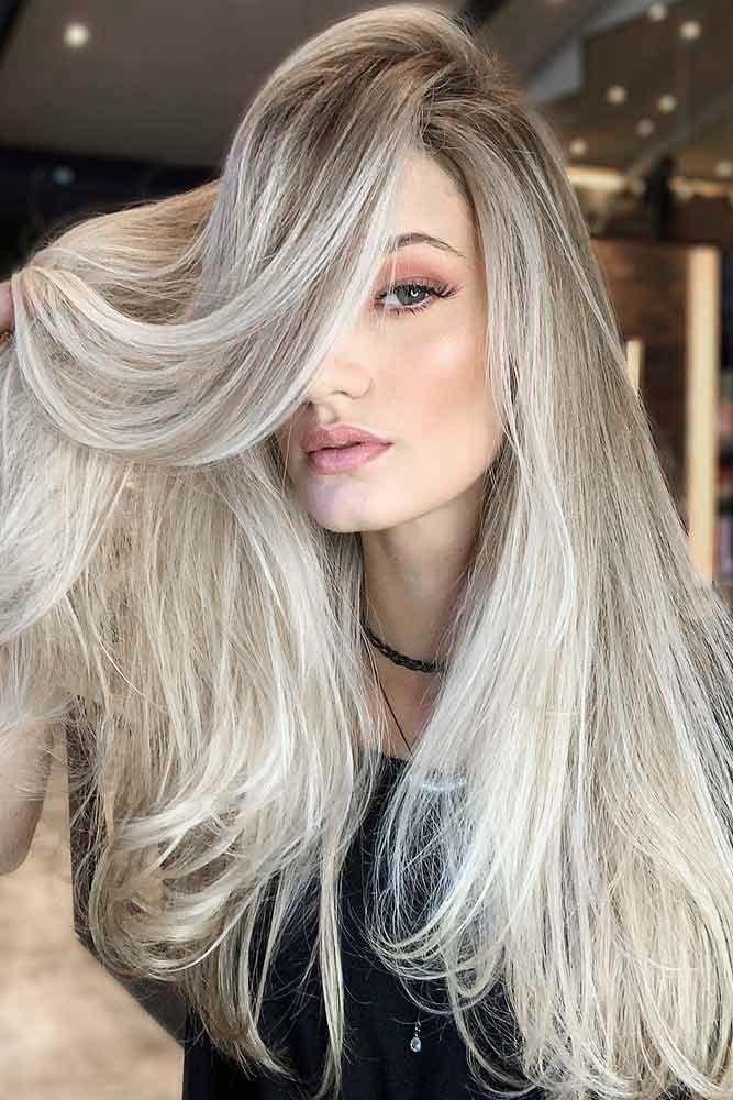 Eye-Catching Shades Of Platinum Blonde #blondehair ❤️ Try platinum blonde ha...