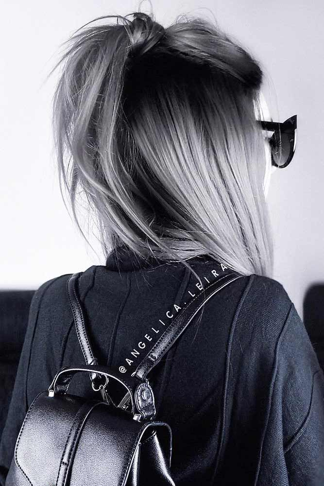 Fantastic Grey Ombre Hair picture1 ❤️ Grey ombre hair remains popular, which...