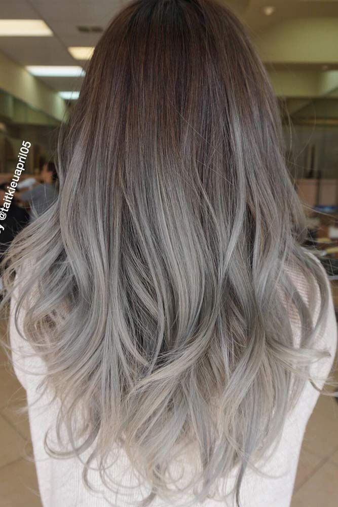 Fantastic Grey Ombre Hair picture2 ❤️ Grey ombre hair remains popular, which...