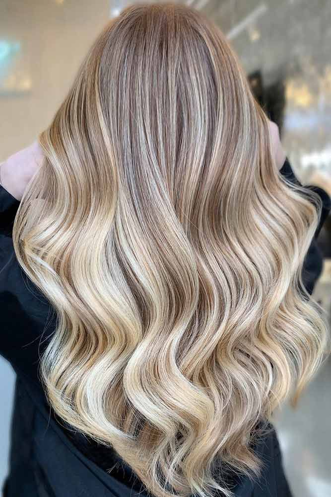 Gold And Blonde #lowlights ❤️ If you want to make your hair color deeper, lo...