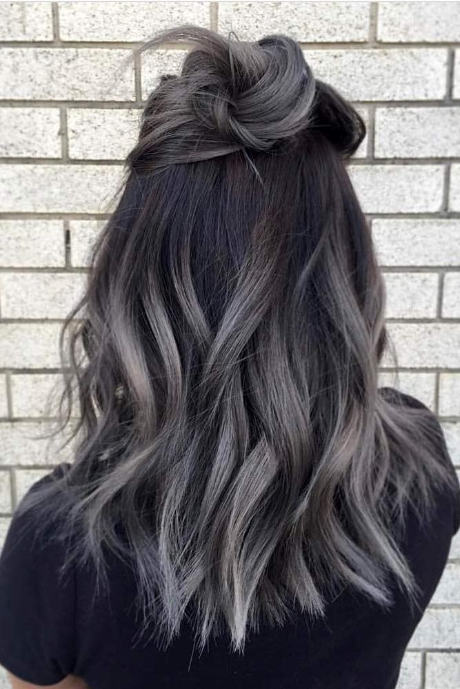 Grey Ombre Hair Ideas picture2 ❤️ Grey ombre hair remains popular, which is ...