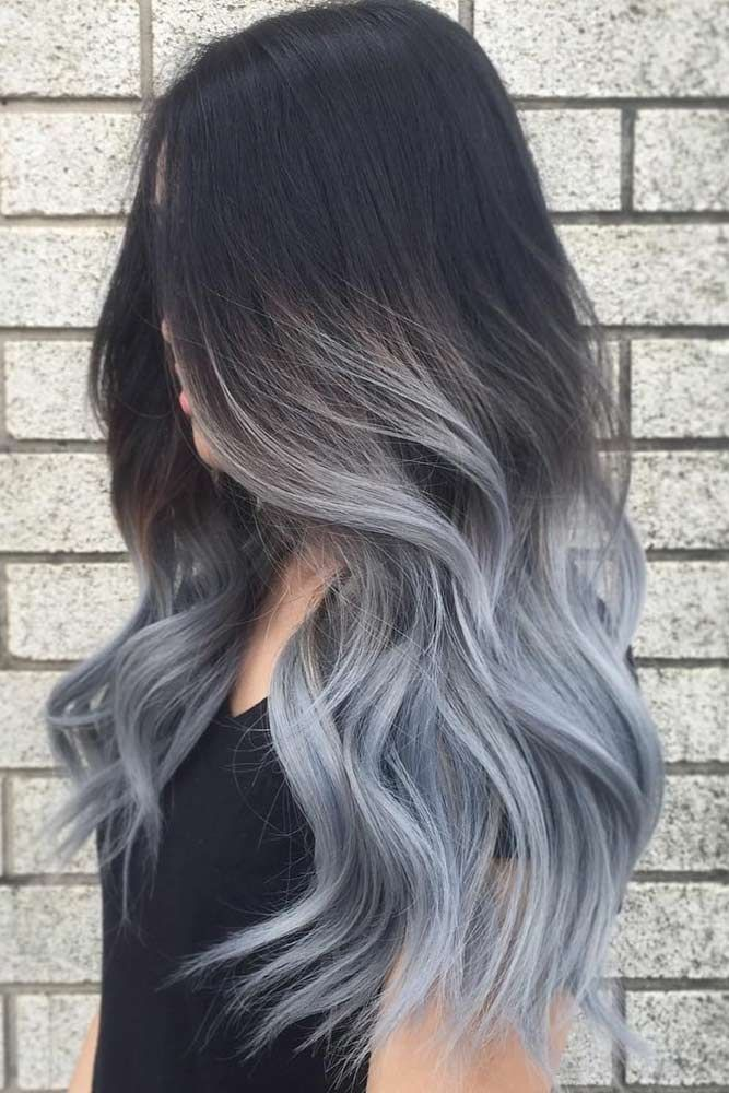Grey Ombre Hair Ideas picture3 ❤️ Grey ombre hair remains popular, which is ...