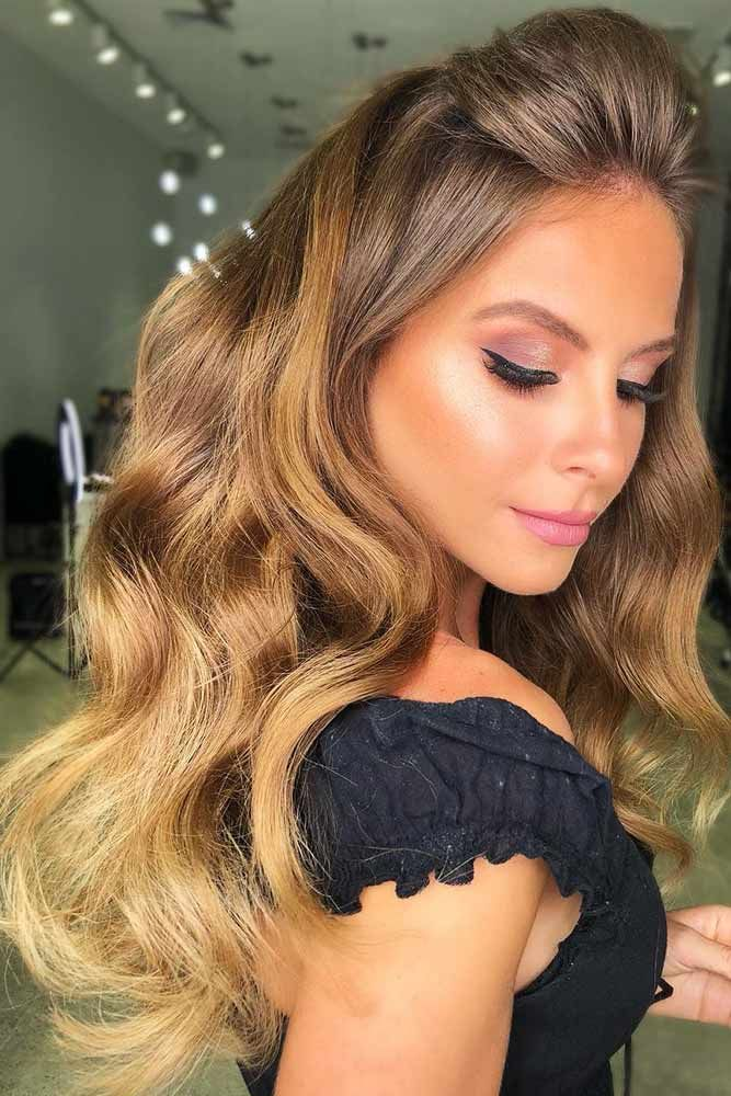 Hair Color 2017/ 2018 - Honey Ombre For Light Brown # ...
