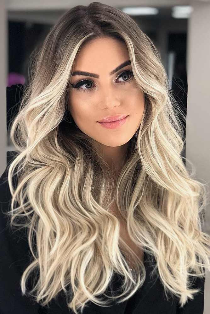 Icy Blonde Balayage #blondehair #ombre #balayage ❤️ Are you looking for blon...