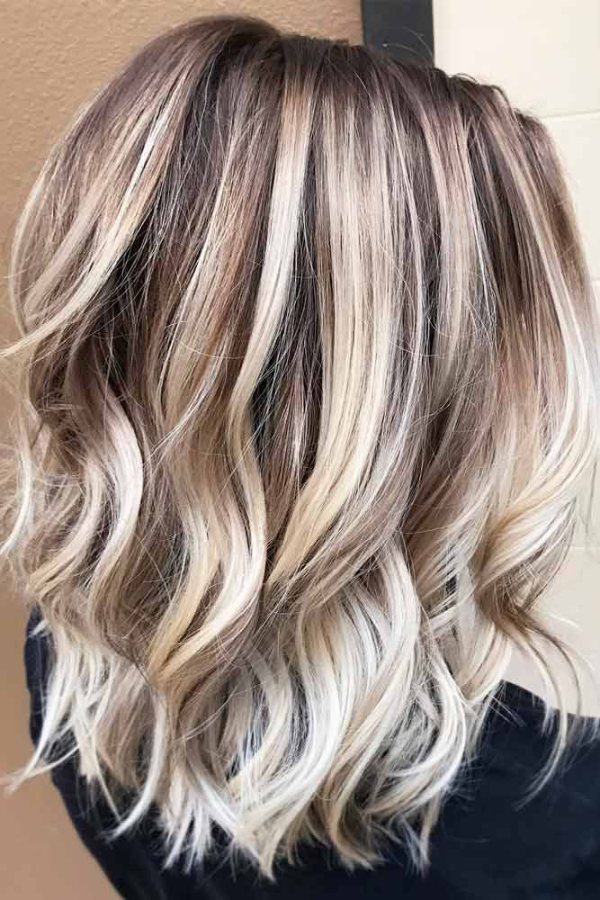 Icy Blonde Balayage with Warm Tones ❤️ Try platinum blonde hair shade if you...