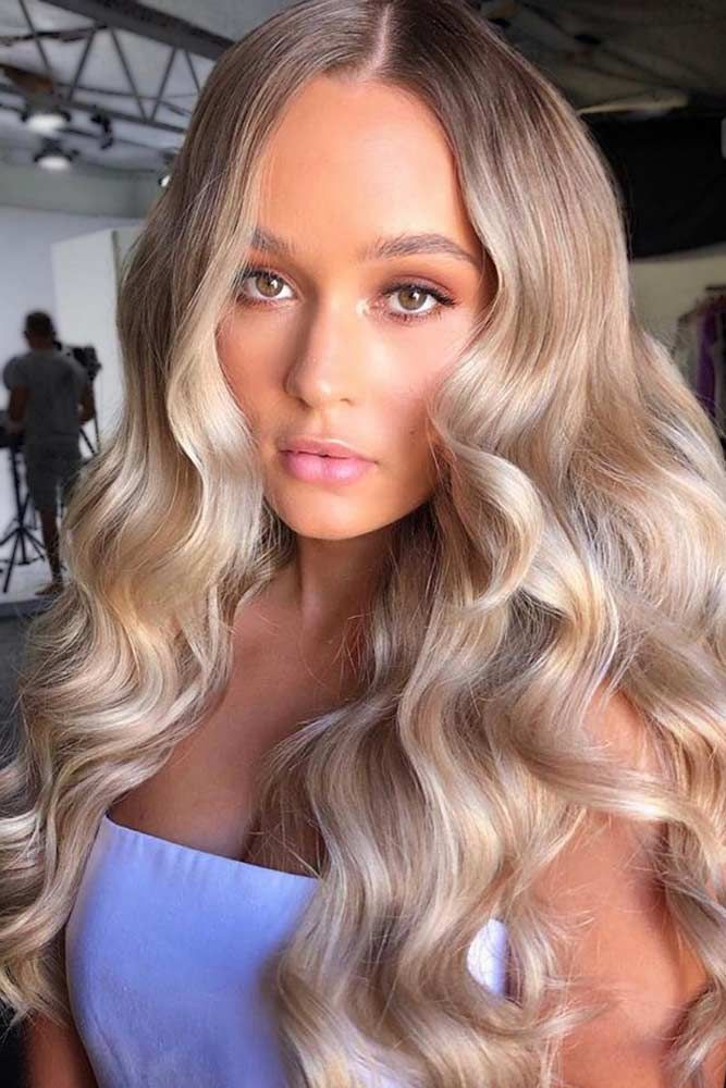 Light Caramel & Blonde #lowlights ❤️ If you want to make your hair color dee...