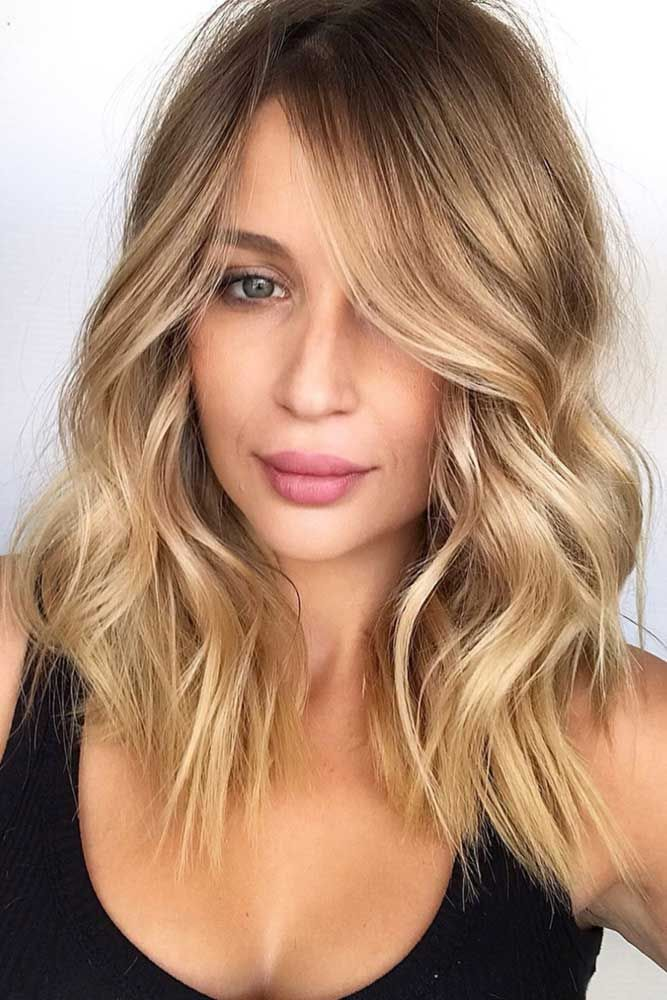 Light Sandy Blonde With Waves #blondehair ❤️ Blonde hair colors will never g...