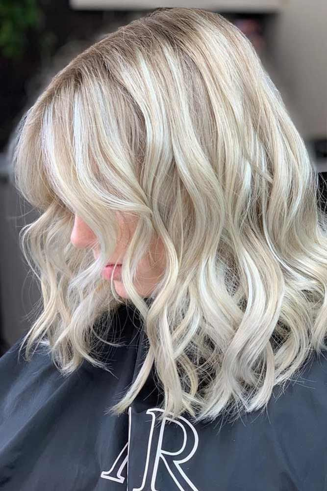 Lowlights For Icy Blonde #lowlights ❤️ If you want to make your hair color d...