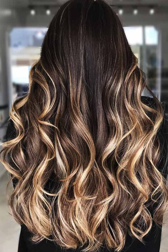Melted Praline Dimension #brunette #highlights #blondehair ❤️ Do you know ho...