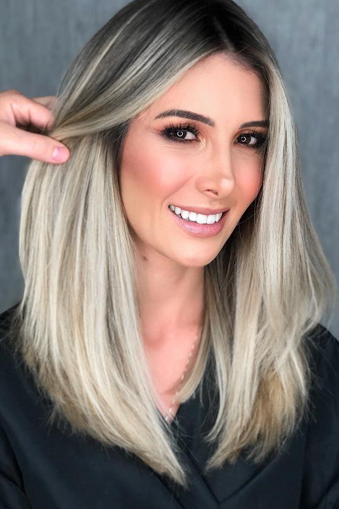 Platinum Hair Color For Black Hair #blondehair #brunette ❤️ Try platinum blo...