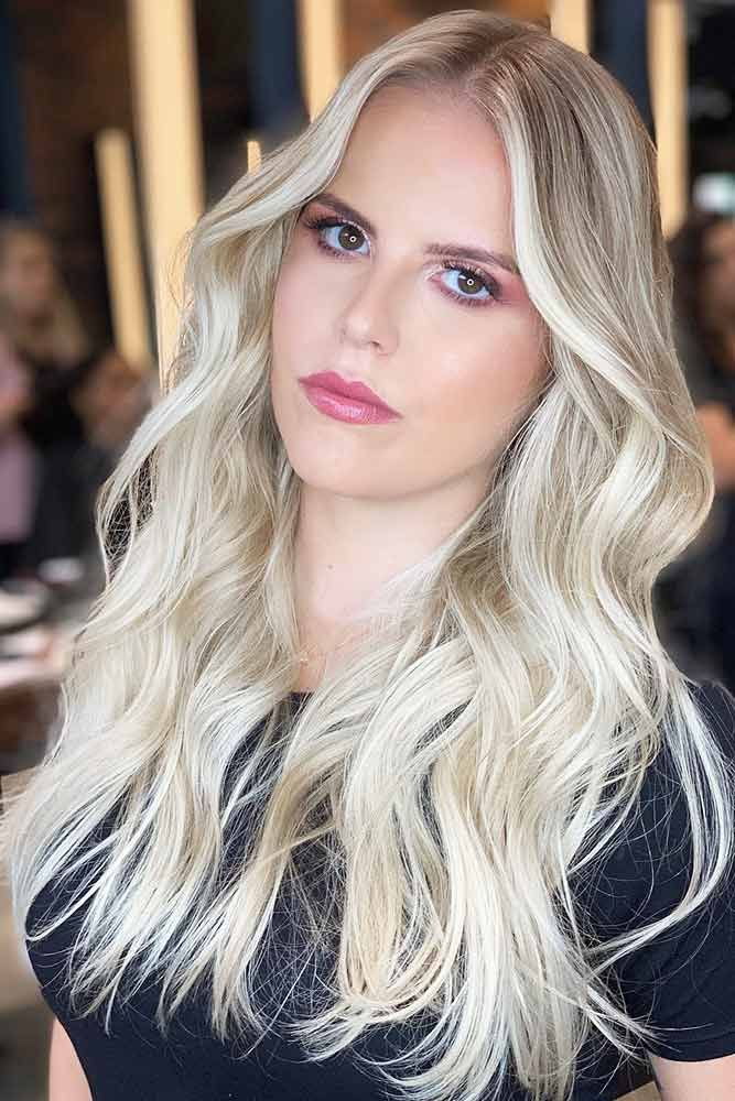 Silk And Shiny Blonde Hair Shades #blondehair ❤️ Try platinum blonde hair s...