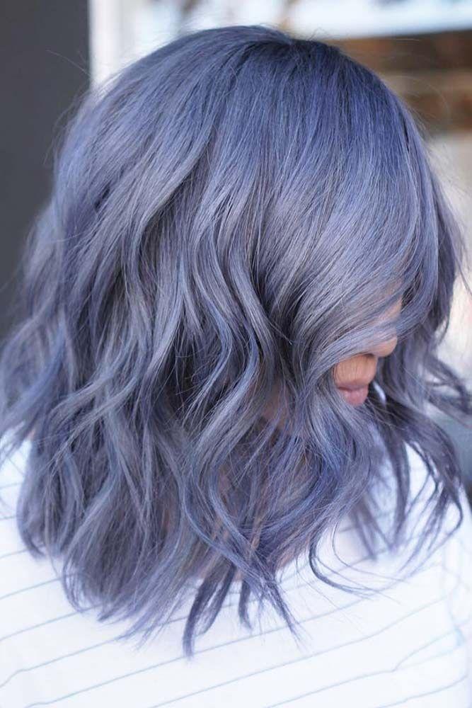 Smokey Pastel Denim #pastelhair #bluehair ❤️ Pastel hair colors speak not on...