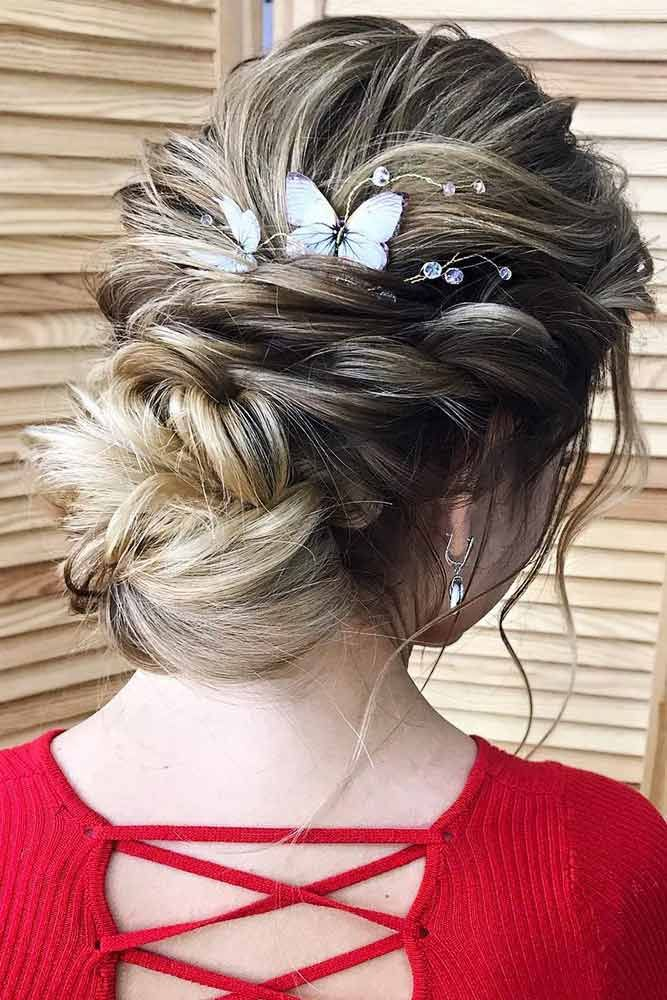 Special Hairstyles For Dark Blonde Hair #updo #blondehair ❤️ Try out our stu...
