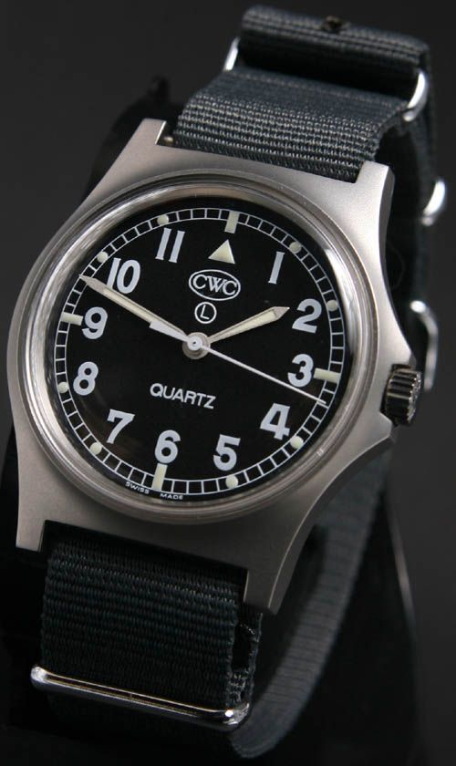 Cabot Watch Company Current British army quartz general service watch Currently ...