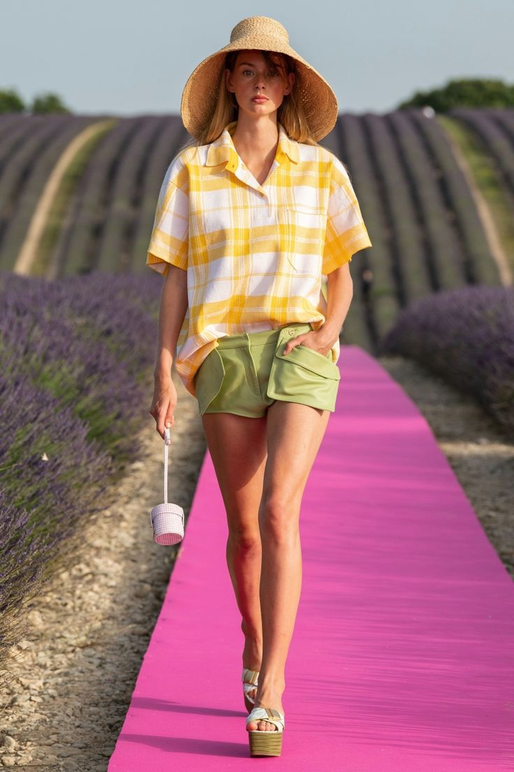 Jacquemus' Spring 2020 Collection Is JUST the Whiff of Lavender I Needed