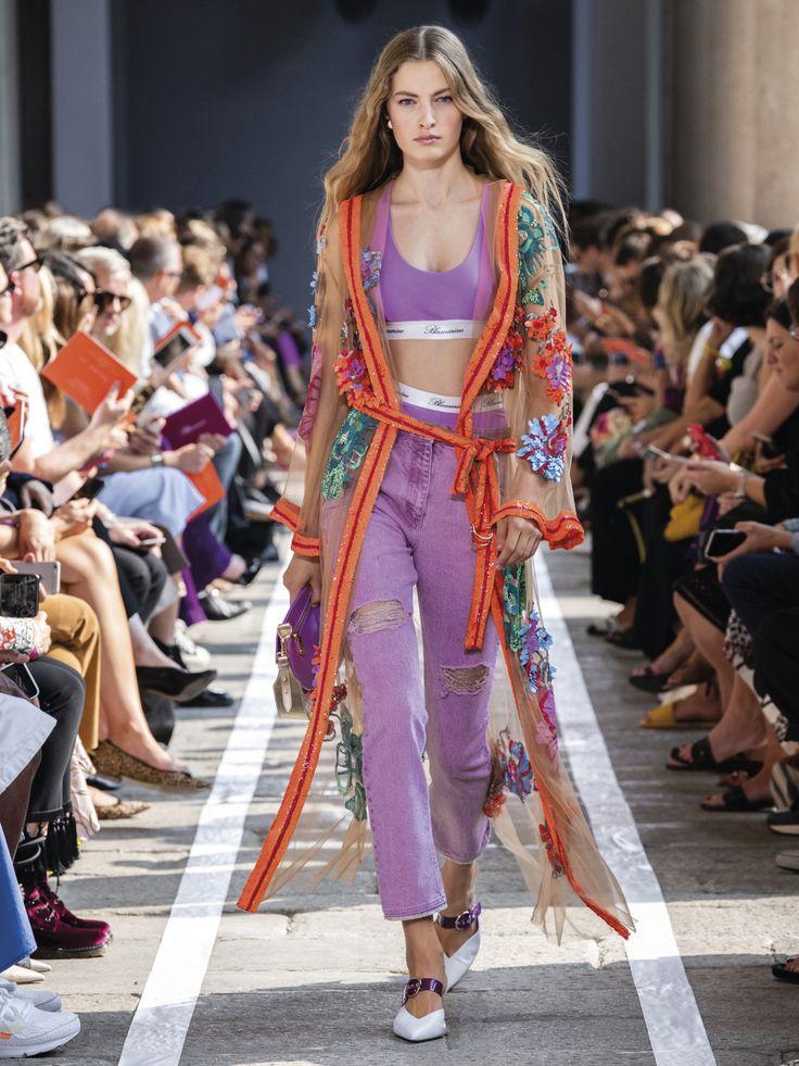 Blumarine Spring Summer 2019 Fashion Show Collection