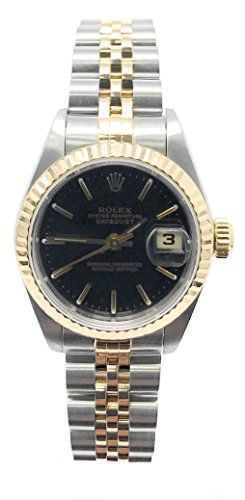 Rolex Datejust swiss-automatic womens Watch 79173 (Certified Pre-owned) *** You ...