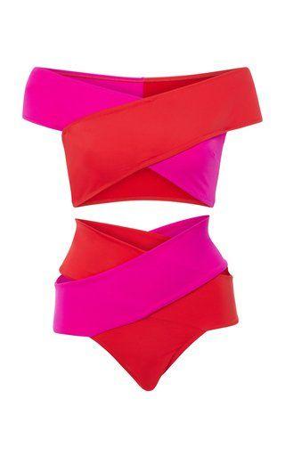 Cross Bikini Set by OYE Swimwear Resort 2019