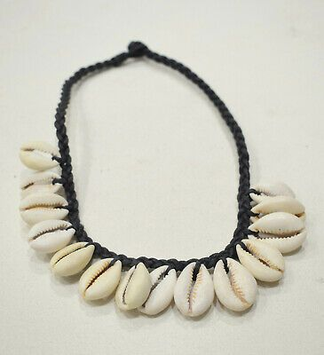 Details about African Cowrie Shell Choker or Anklets 14