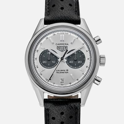 TAG Heuer's iconic sports watches won their fame and accolades on the wrists o...
