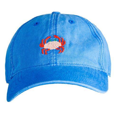 Needlepoint Baseball Hat