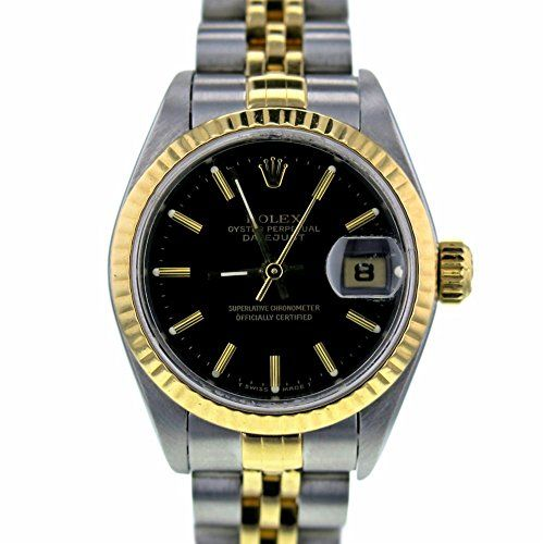 Rolex Datejust swiss-automatic womens Watch 69173 (Certified Pre-owned) ** Want ...