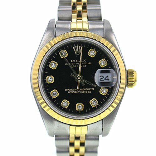 Rolex Datejust swiss-automatic womens Watch 69173 (Certified Pre-owned) *** Chec...