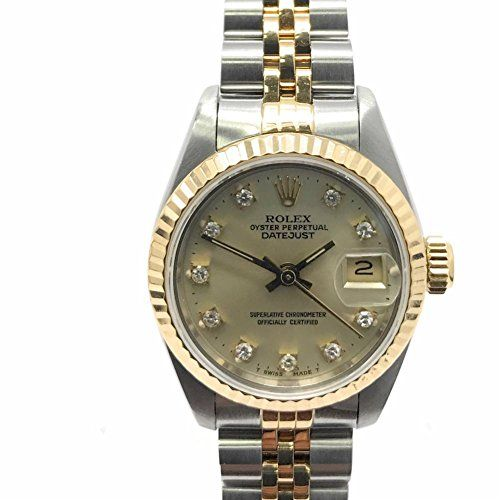 Rolex Datejust swiss-automatic womens Watch (Certified Pre-owned) 69173 * More i...