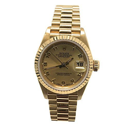 Rolex Datejust swiss-automatic womens Watch (Certified Pre-owned) 69178 * Click ...
