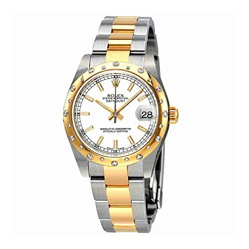 Rolex Datejust 31 Automatic White Dial Ladies 18K Gold Watch 178343WSO * Want to...