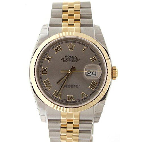 Rolex Datejust 36mm Steel Dial Fluted Watch 116233 -- Be sure to check out this ...