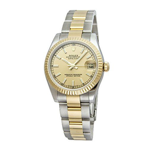 Rolex Datejust Champagne Dial Women's Watch m178273-0009 *** To view further for...