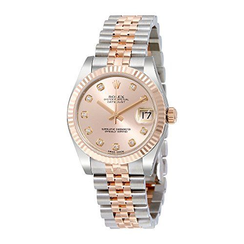 Rolex Datejust Lady 31 Pink Dial Stainless Steel and 18K Everose Gold Rolex Jubi...