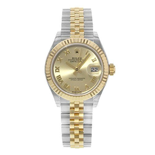 Rolex Lady Datejust Champagne Dial Steel and 18K Yellow Gold Ladies Watch 279173...