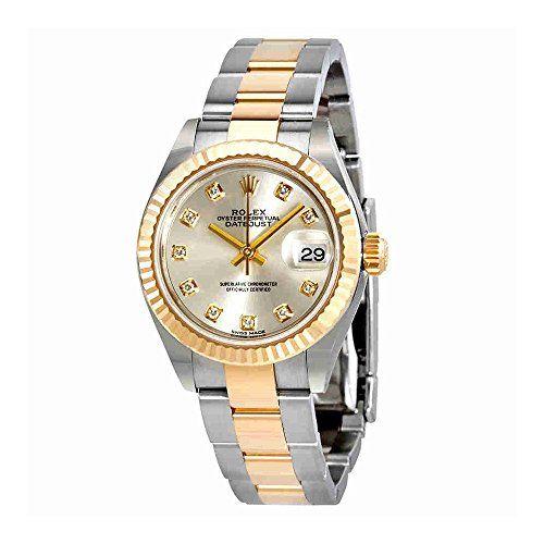 Rolex Lady-Datejust Silver Diamond Dial Automatic Ladies Watch 279173SDO * You c...