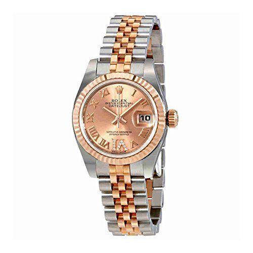 Rolex Oyster Perpetual Lady Roman Diamond Dial Automatic Watch 179171PDRJ * You ...