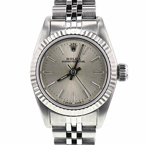 Rolex Oyster Perpetual swiss-automatic womens Watch 67194 (Certified Pre-owned) ...