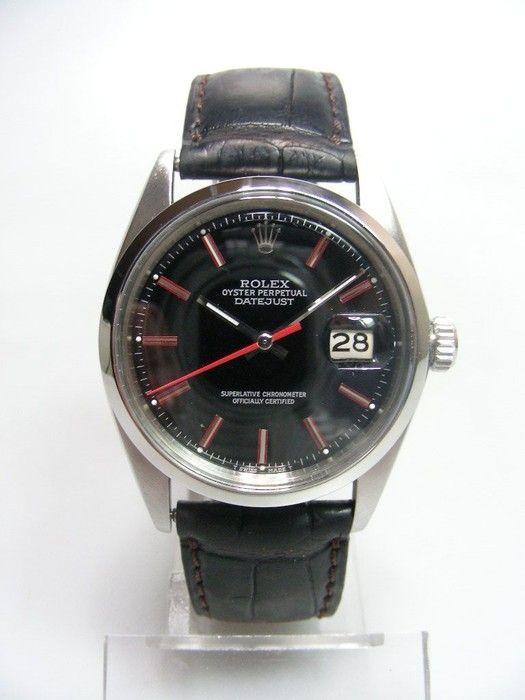 1973 - Rolex Datejust. #Rolex #Datejust #Watches #MFW