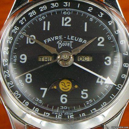 Bovet Favre Leuba triple calendar moonphase - Datora for Listing no longer available for sale from a Seller on