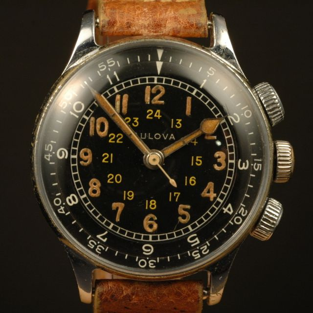 Bulova Type A-15 Elapsed Time Watch