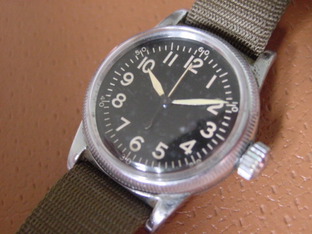 Details about WW2 Elgin A11 Hack Watch Case & Dial