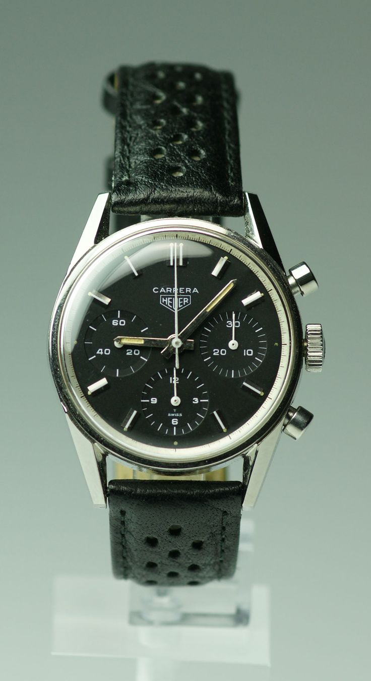 Heuer Carrera 2447N - the first Carrera.